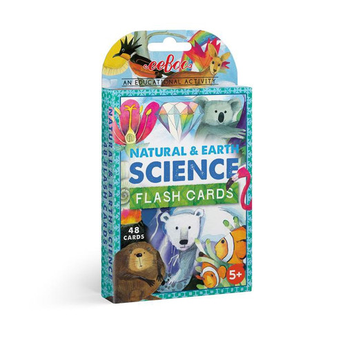 Natural Earth and Science Flash Cards