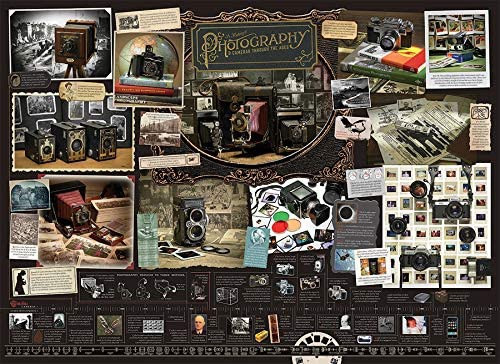 History of Photography - 1000 pc