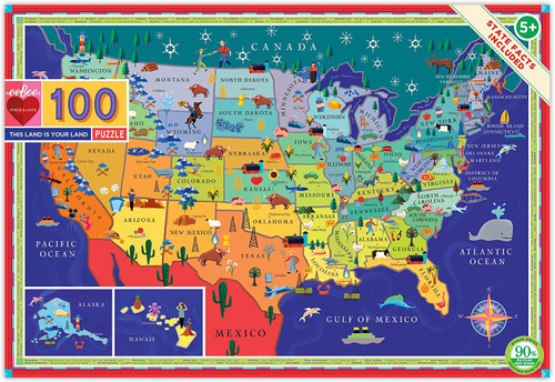 This Land is Your Land - 100 Piece