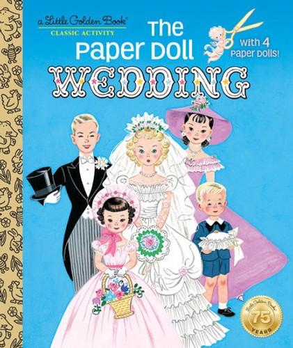 Little Golden Book - The Paper Doll Wedding