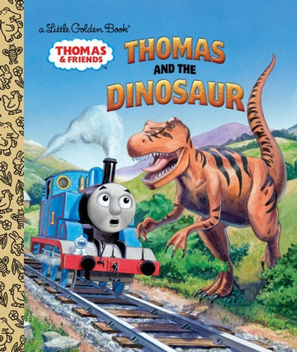 Little Golden Book - Thomas and the Dinosaur