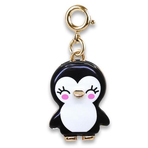 Charm - Gold Penguin