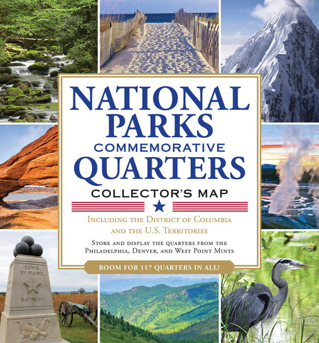 National Parks Commemorative Quarters Collector's Map