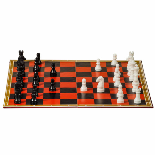Chess and Checkers Set - Schylling