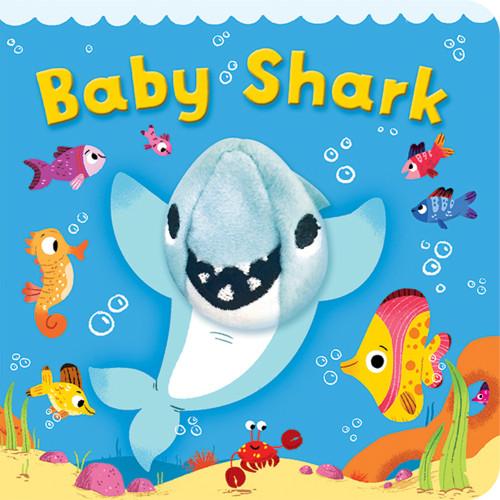Baby Shark Chunky Finger Puppet Book