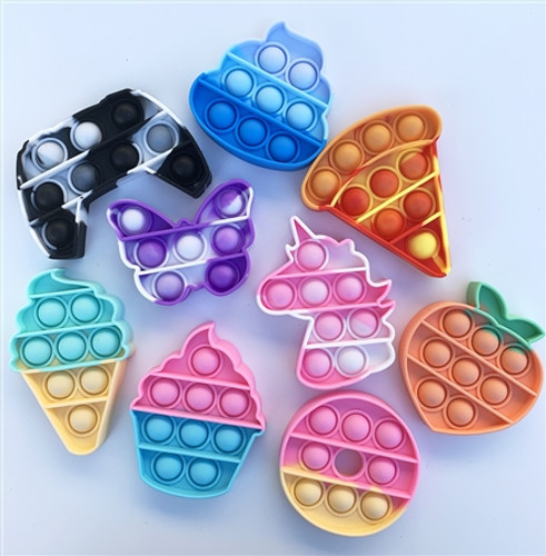 Pop It Bubble Fidget - Minis (Assorted)