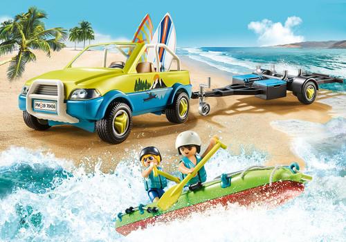 Playmobil - Beach Car with Canoe
