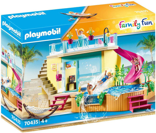 Playmobil - Bungalow with Pool