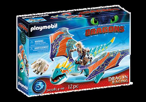 Playmobil - Dragon Racing: Astrid & Stormfly
