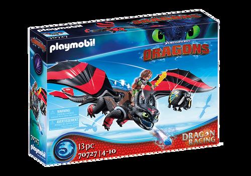 Playmobil - Dragon Racing: Hiccup & Toothless