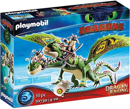 Playmobil - Dragon Racing: Ruffnut & Tuffnut w/ Barf & Belch