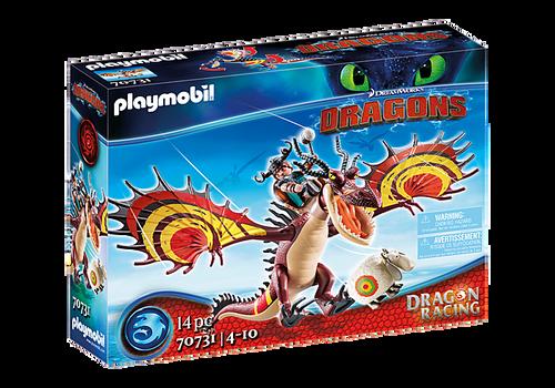 Playmobil - Dragon Racing: Snotlout & Hookfang
