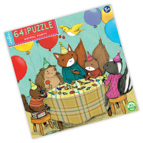 Animal Party - 64 Piece