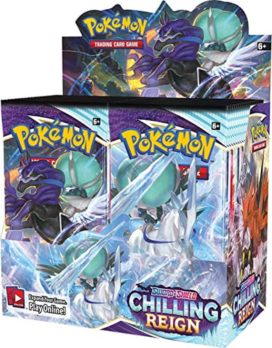 Pokemon - Sword and Shield Chilling Reign Booster Pack