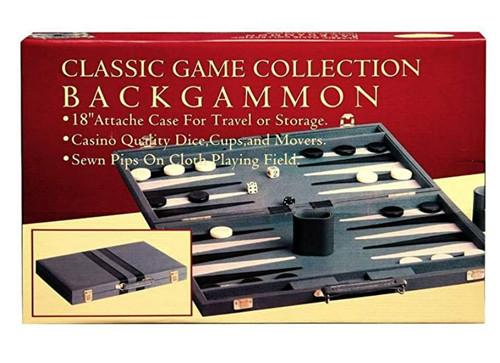 Backgammon Attache - 15 Inch