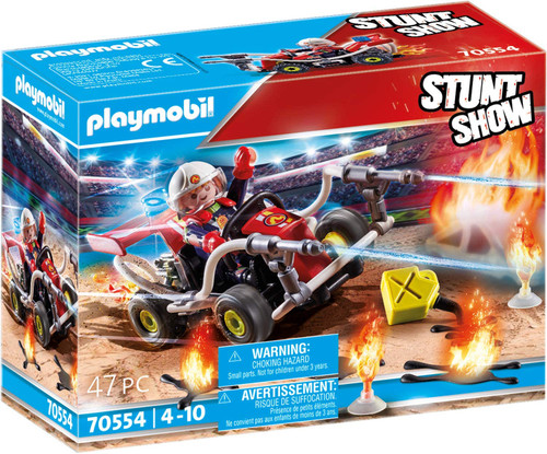 Playmobil - Stunt Show Fire Quad