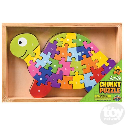 Wooden Turtle Letter Puzzle