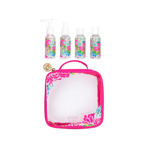 Lilly Pulitzer Travel Bottle Set