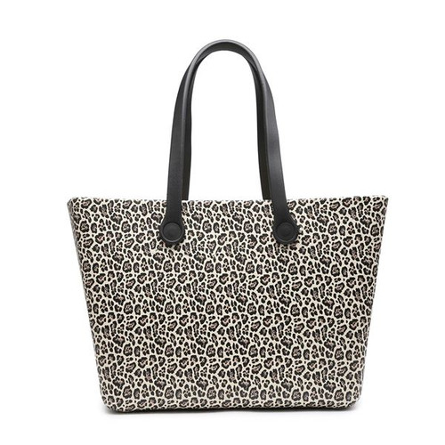 Printed Versa Tote with Interchangeable Straps