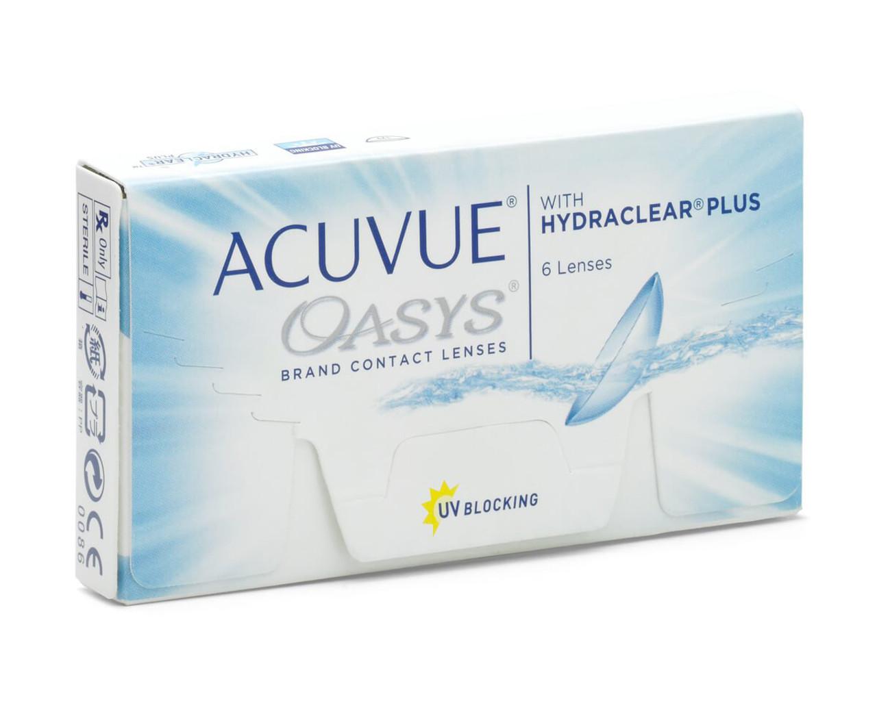842aa399f7c Acuvue Oasys 6 pack - Visionary Optometrists