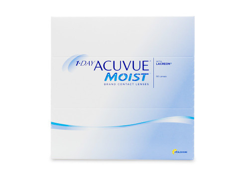 1 Day Acuvue Moist 90 Pack