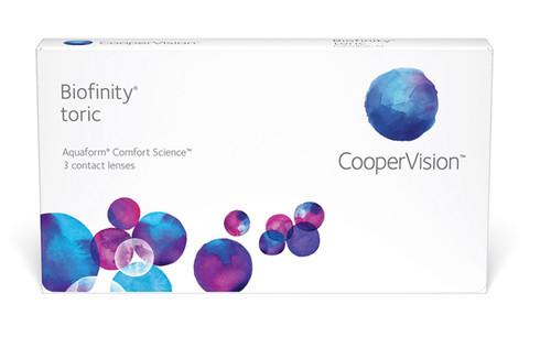Biofinity Toric 3 Pack