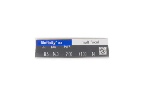 Biofinity Multifocal 6pk