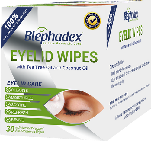 Blephadex - Eyelid Wipes