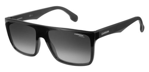 All black frame with UV protection lenses.