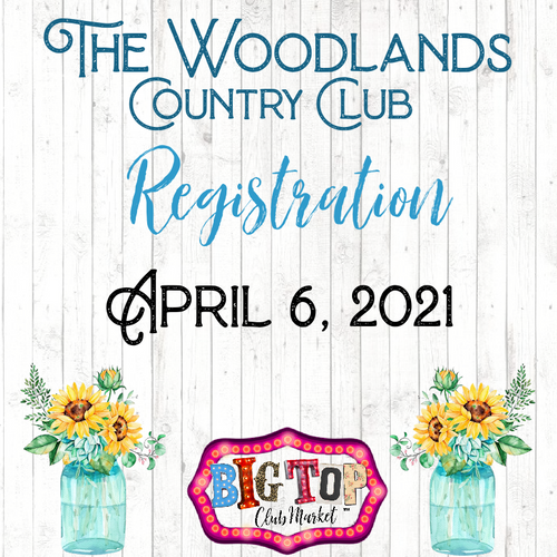 April 6, 2021 The Woodlands Country Club Vendor Registration
