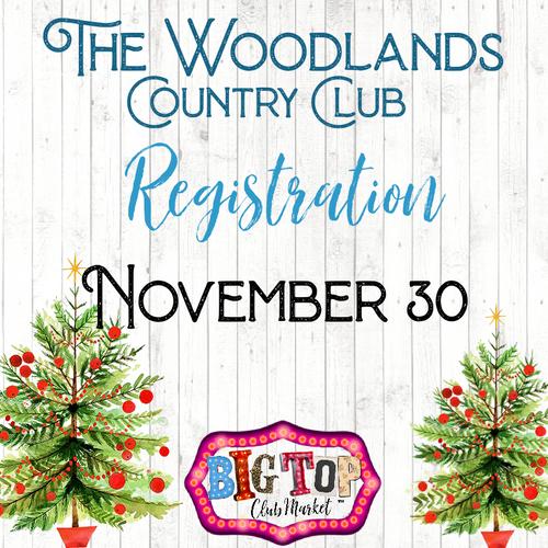 November 30, 2021 The Woodlands Country Club Vendor Registration