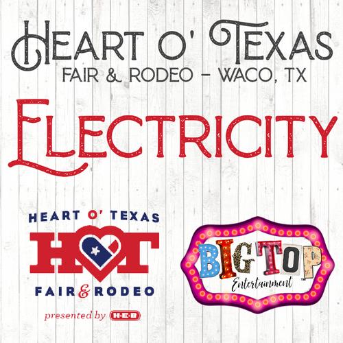 Electricity Registration - Waco, TX - Thursday, October 7 - Sunday, October 17, 2021 - Extraco Events Center - Vendor Registration