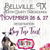 Under The Big Top Tent - Bellville, TX - Friday, November 26 & Saturday, November 27, 2021 - Austin County Fairgrounds - Vendor Registration