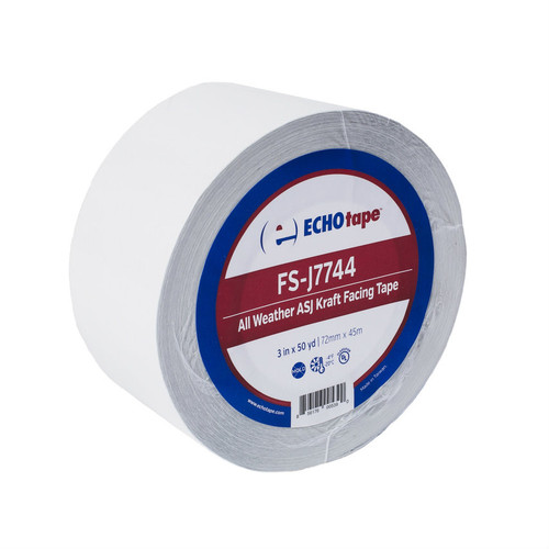 FS-J7744 All Weather ASJ Kraft Facing Tape | ECHOtape