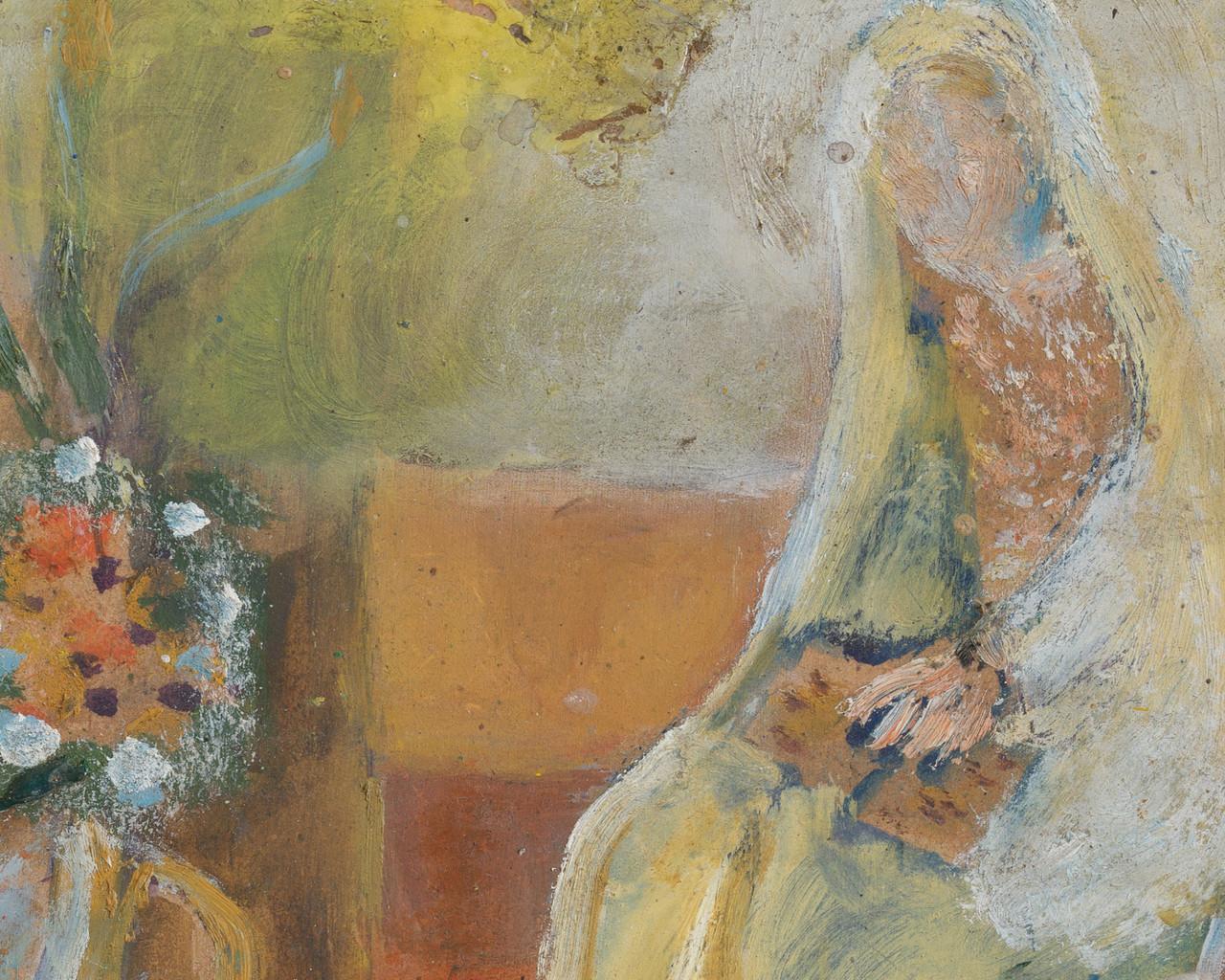 ljiljana blazevska untitled annunciation scene