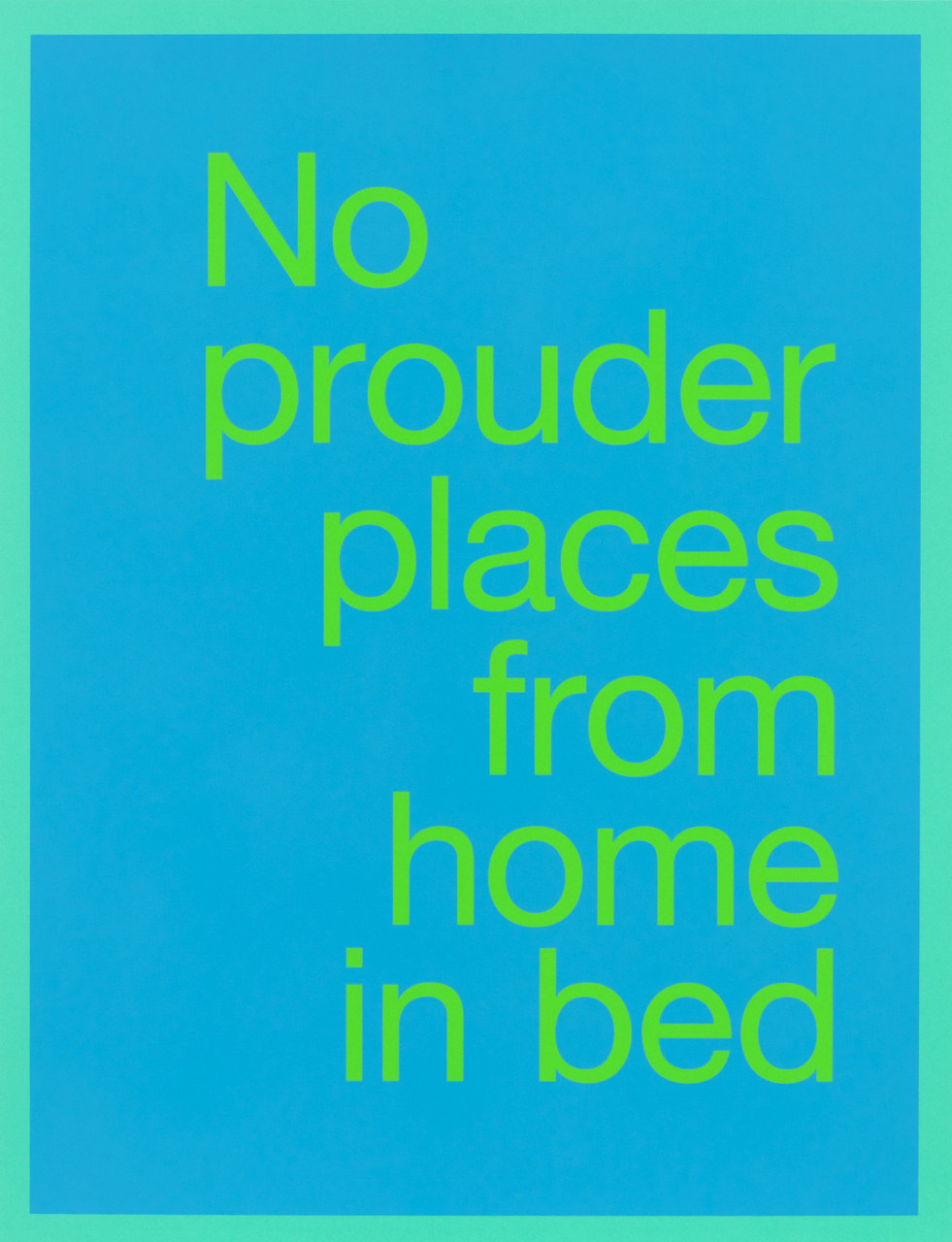 renee green no prouder places from home in bed