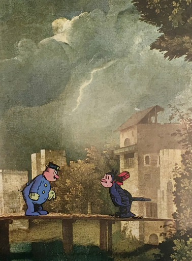 john ashbery storm at castelfranco