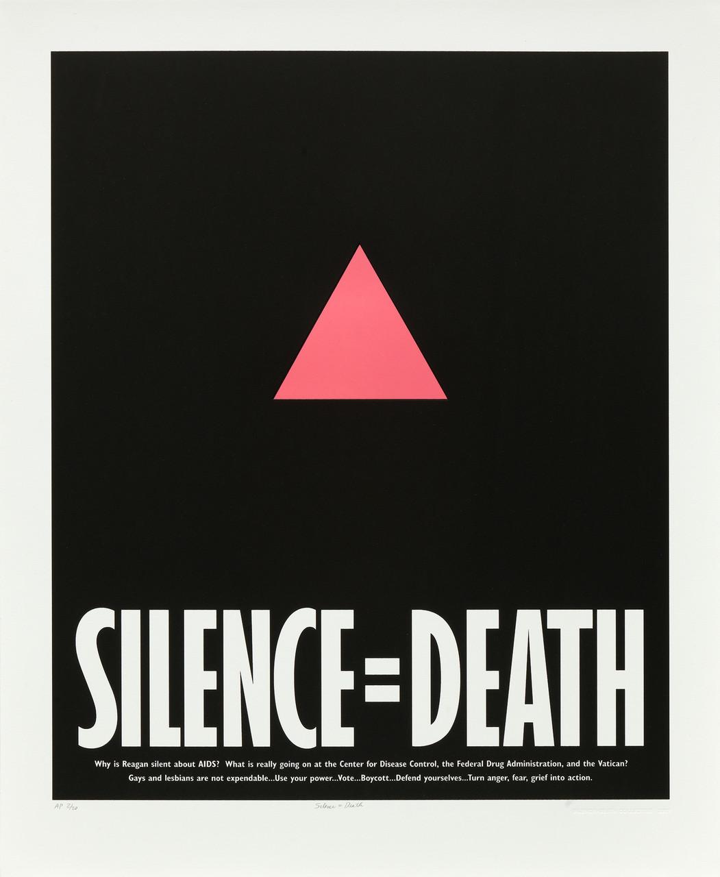 silence = death collective silence=death