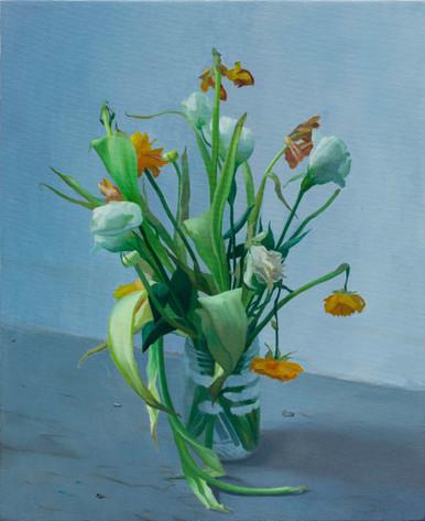 brandi twilley flowers on the floor