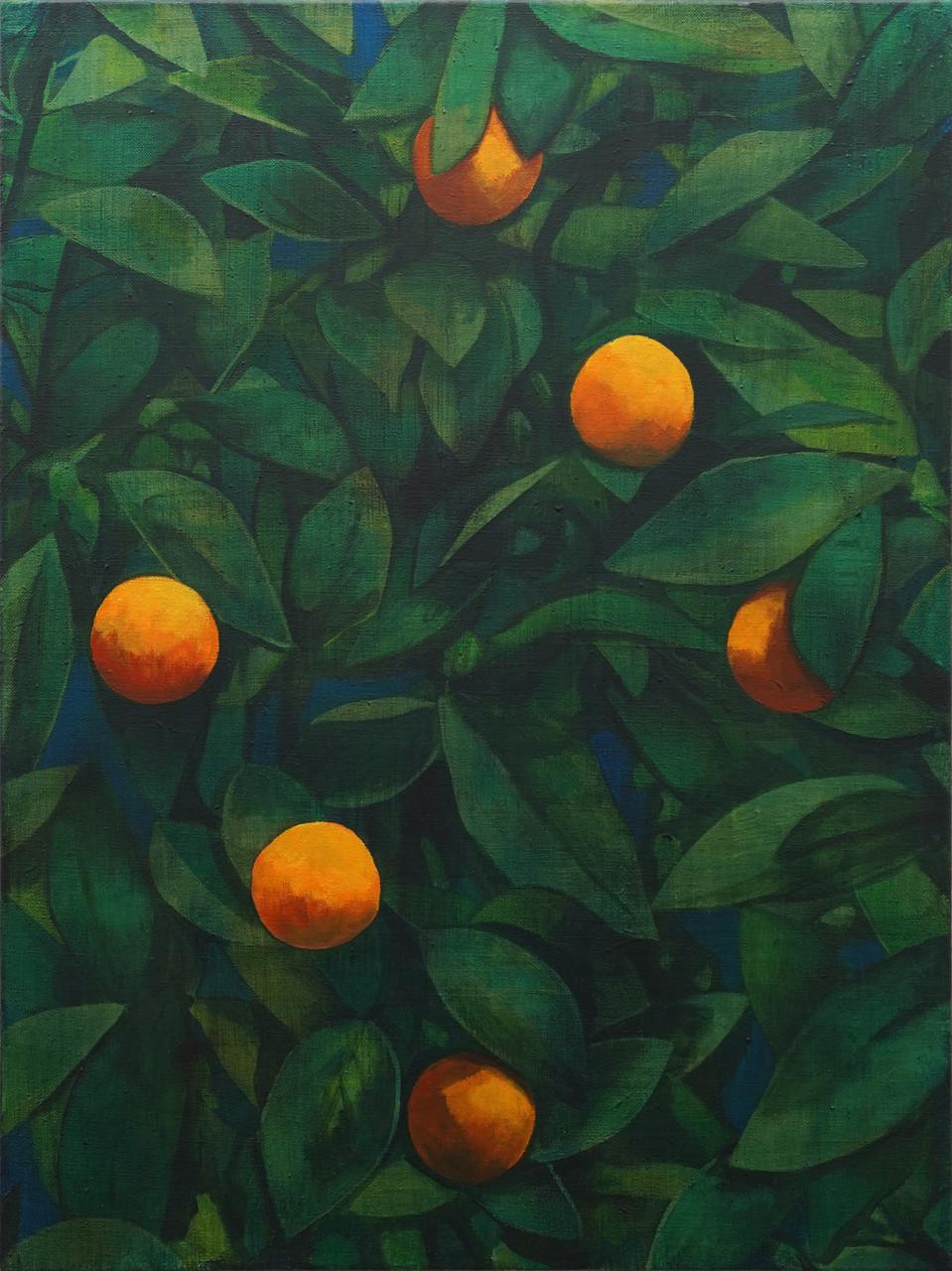 ryan mrozowski untitled orange