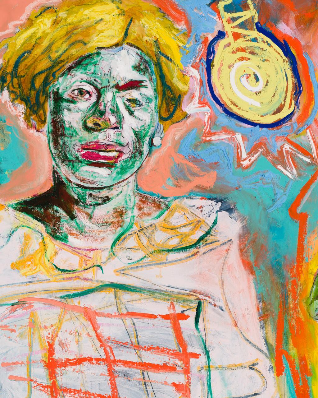 farley aguilar woman with lightbulb
