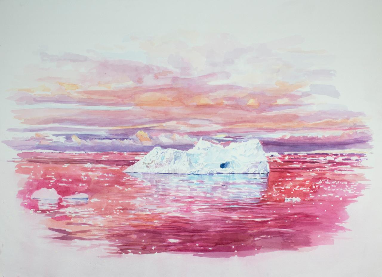 william powhida antarctica realism