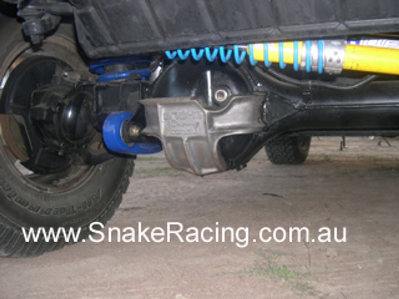 LandCruiser 80 Series Front Diff Guard - Snake Racing