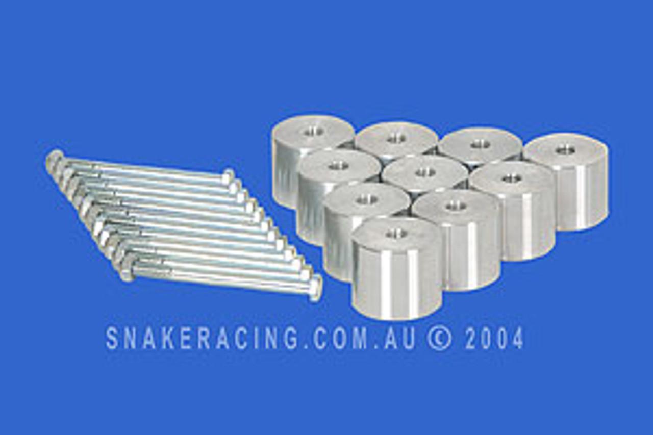 LandCruiser 100 Series 50mm Body Lift - Snake Racing