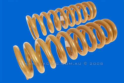 Great Wall X240 Rear Coil Springs - 45mm Lift