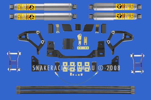 """IFS Hilux 4"""" X-Flex Lift Kit"""
