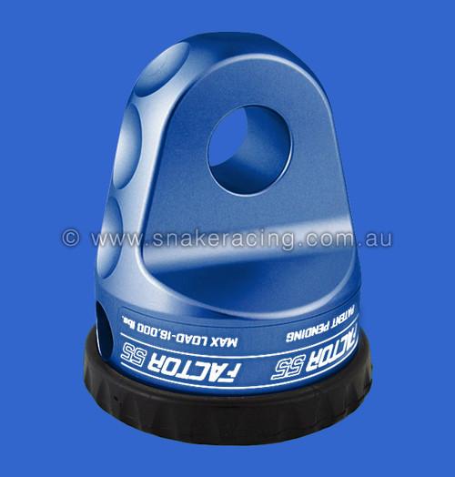 Blue - ProLink Loaded Titanium pin Winch Hook