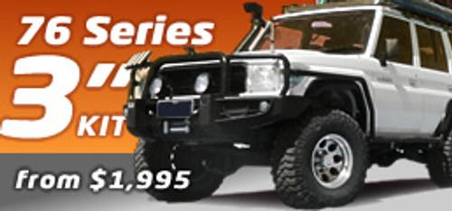 """76 LandCruiser Series 3"""" Suspension Kit"""