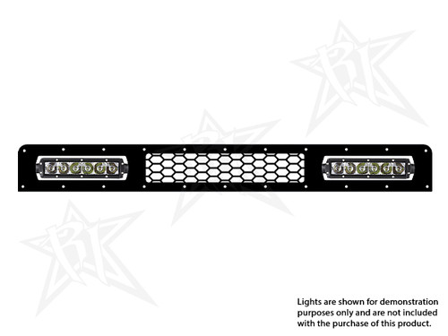 FJ Cruiser Lower LED Grille Kit