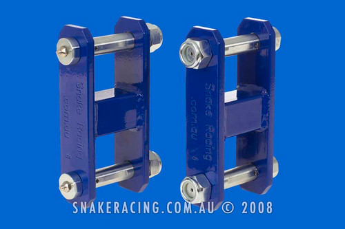 Courier Extended Shackles REAR STRAIGHT